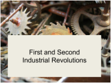 Industrial Revolutions presentation first page