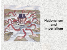 Nationalism and Imperialism presentation first slide.